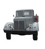Front of Truck Grey stock images
