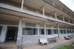Tuol Sleng Genocide Museum, Phnom Penh, Cambodia Stock Photos