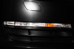 Front turn light of sport car closeup Stock Photography