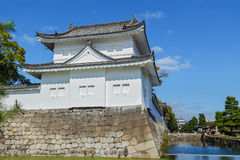 Front Turret of Nijo Castle in Kyoto Royalty Free Stock Images
