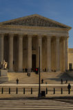 Front of the U.S. Supreme Court Stock Photo