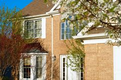 Front of upscale home Stock Photo