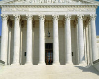 Front of US Supreme Court, Royalty Free Stock Photo