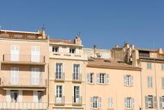 Front van gebouwen Stock Afbeelding