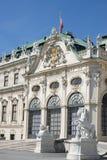 Front van Reduta-Overleg Hall Bratislava Royalty-vrije Stock Foto's
