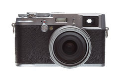 Front Veiw Retro Styled Camera Royalty Free Stock Images