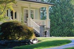Front Veranda ou patamar residencial Foto de Stock