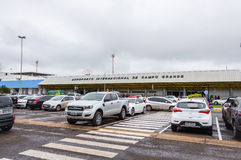 Front view of Aeroporto Internacional de Campo Grande Royalty Free Stock Photography