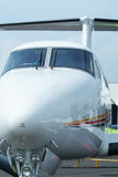 Front view of aircraft Royalty Free Stock Photo