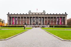 Front view of Altes Museum (Old Museum) in Berlin Stock Photo