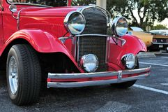 Front view antique car Royalty Free Stock Photography