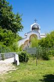 Front view of Baba Vanga's church in Rupite Stock Image