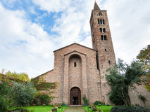 Front view of basilica San Giovanni Evangelista Royalty Free Stock Photo