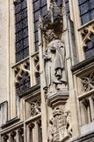 Front view of Bath Abbey, UK Stock Photo