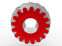 Front view bevel gear Royalty Free Stock Photo