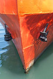 Front view of a big ship Stock Photography