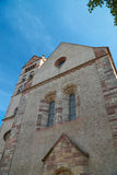 Front view from the Breisach Minster Royalty Free Stock Images