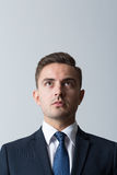 Front view of businessman Royalty Free Stock Photos