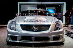 Front View of Cadillac Stock Photography