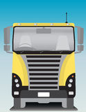 Front view of Cargo truck Royalty Free Stock Photography
