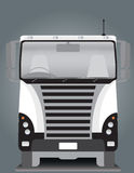 Front view of Cargo truck Royalty Free Stock Images
