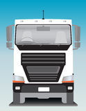 Front view of Cargo truck Stock Images