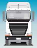 Front view of Cargo truck Royalty Free Stock Image