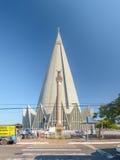 Front view of Catedral Basilica Menor Nossa Senhora da Gloria in Stock Images