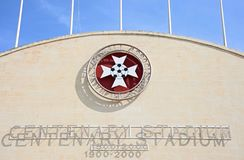 Centenary Stadium, Malta. Royalty Free Stock Photography