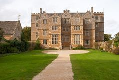 Front view of Chastleton House, Oxfordshire. England Royalty Free Stock Image
