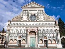 Front view Church Santa Maria Novella di Firenze Royalty Free Stock Photo