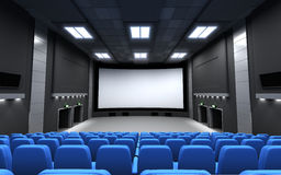 Front view cinema Royalty Free Stock Photos