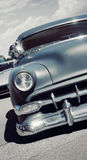 Front View of a Classic American Car Royalty Free Stock Photography