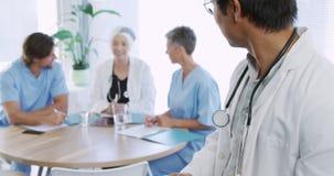 Medical professionals at work