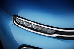Car exterior: LED Daytime Running Light Royalty Free Stock Image