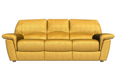 Front view of the Couch Stock Photo