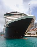 Front view of cruise ship Royalty Free Stock Photos