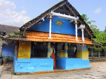 Front view Dakshina Kashi Temple, Thirunelli, Kerala, India,. Front view, Dakshina Kashi Temple, Thirunelli, Kerala, India is an ancient temple dedicated to Lord Royalty Free Stock Photography