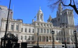 Front View de ville hôtel, New York Photos libres de droits