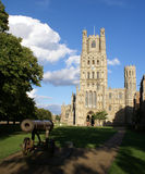 Front view of Ely Cathedral Royalty Free Stock Images