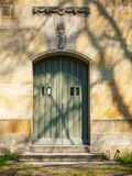 Front view of the entrance door Stock Photo
