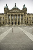 Front view of Federal Administrative Court, Germany. Federal Administrative Court of Germany. The Bundesverwaltungsgericht has its seat at the former Royalty Free Stock Photo
