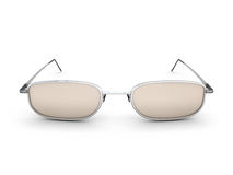 Front view glasses Royalty Free Stock Image