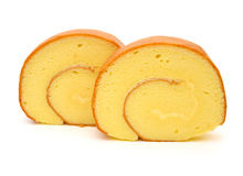 Front view golden sweet rolls Stock Image