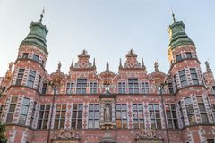Great Armoury building in Gdansk Stock Photography