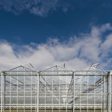 Front view of a greenhouse Royalty Free Stock Images