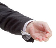 Front view of handful - hand gesture Stock Photos