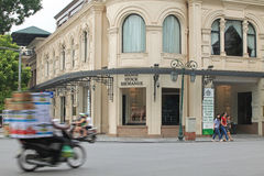 Front view of Hanoi Stock Exchange Royalty Free Stock Images