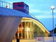 Front View of the Historic Beale Street Landing Royalty Free Stock Image