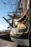 Front view of HMS Victory Royalty Free Stock Photos